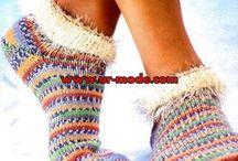 socks / by mary mackie