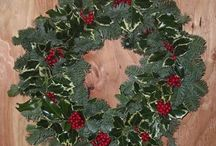 Christmas Wreaths / Hand crafted with holiday love and pride from our skilled wreath-makers.