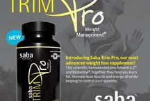 Saba Trim Pro NEW!! / This scientific formula contains Advantra Z®, a clinically patented ingredient shown to stimulate metabolism & fat breakdown. Also contains Bioperine®, patented for its ability to increase bioavailabilty & absorption of nutritional compounds.  Saba Trim Pro will help you burn fat, increase lean muscle & energy all while helping you control your appetite.  EVERYONE IS GOING CRAZY FOR TRIM PRO!! ♥  Order yours today at http://aceappetitecontrolenergy.com with Free Shipping!