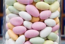 Sugar Almonds / These sweets and their colours have entranced me since childhood ...
