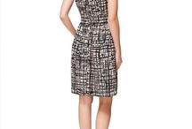 Straight body lines cool dark bright dresses / Dresses for straight body lines in winter colours