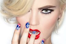 Independance Day Glam / Beauty that comes in my fav colors: red, white and blue