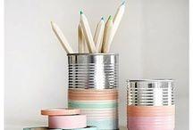 D I Y / Créer, coller, découper, colorier, peindre, assembler, imaginer...