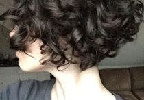 Shortish curly bob