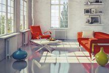 Béton et architecture d'intérieur