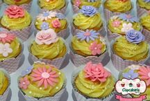 Cupcakeria da Gi / Our beautiful Cupcakes. ... Nossos lindos Cupcakes ... by Cupcakeria da Gi