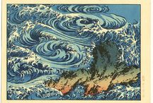 Japanese Prints / Hokusai (1760-1849), and other Japanese prints.