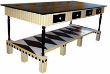 Craft Table Ideas / Creative craft tables with lots of storage.