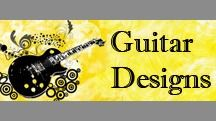 Guitar Designs (JSR) / These are top quality material shirts, top quality print job with  detailed guitar artwork.
