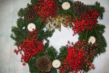 Le mie corone di Natale / addobbi di Natale