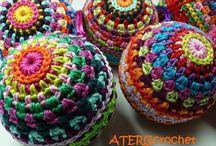 esferas a crochet
