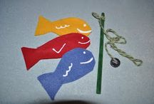 Felt Crafts / Do your kids love felt?  Here are some of our favorite crafts to make out of felt. Check out Green Kid Crafts products on http://www.GreenKidCrafts.com