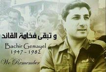Bashir Gemayel - Libano / In onore di un grande uomo e di un grande cattolico / by mario v