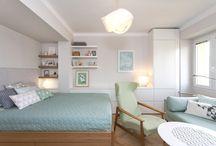 obývák s ložnicí