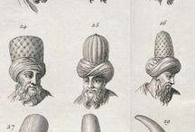 Ottoman hat and helmets