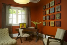 Decorating with Orange / by Nicole Ricard Miner