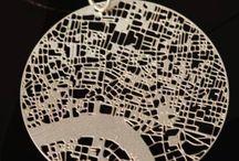 3d print jewelery map