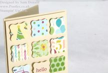 Stampin up Curly Label