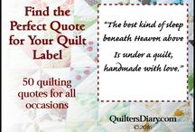 Quilts - label ideas