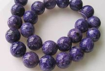 Stone Beads > Charoite Beads / Natural Charoite Beads in every shape, style and size.