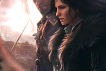 Geralt x Yennefer / My favourite paring THE WITCHER Geralt of Rivia and Yennefer of Vengenberg
