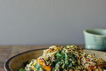 SALADS / Salads, vegan food, raw, healthy,