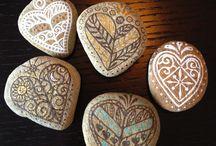 sten - hjerter