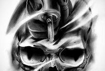 Crânios