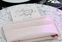 Table Decor / A place setting can set the tone for your whole wedding or event. We hope this board inspires you to create your own signature table decor.
