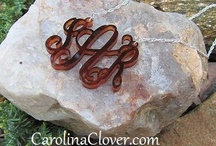 New Designs in Monograms / New monogram designs from carolinaclover.com! / by Carolina Clover