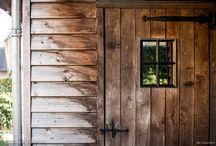 Tuinen & Buiten / Inspiratie voor schuren, tuinen, carports, veranda's en meer waar oud historisch hout in is verwerkt.