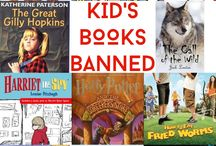 Library- Ban Books? BOOOO