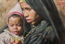 Artist Waleed Yassin / Egypt, Realism
