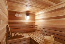 Szaunák/Saunas