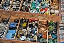 Vintage buttons / by Judy Davis