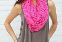 Summer scarf / Sjaals / by Annerieke van Vliet