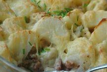 Aardappel gerechten.