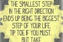Sayings ... / Wise & true words .,.