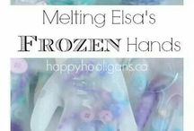 Frozen/ winter ideas EYFS