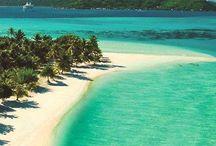 Dream holiday destinations / Exotic/luxury holidays.