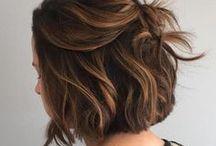 peinados cortes y color