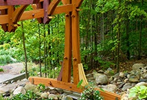 Amazon Timber Frames / Rare Earth Hardwood subsidiary company Amazon Timber Frames can make your timber frame project a reality. We work with architects, engineers and designers to custom tailor your project or you can choose from 100's of plans we have in stock.