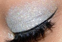 Make-up + Glitter = Love / Make-up that is lovely and Hair-do's. / by Jessica Nola