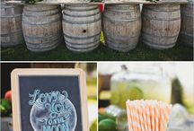 Wiskey Barrel Ideas Wedding