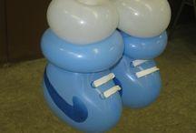 Ballons baptème / baby shower