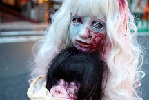 creepy make up