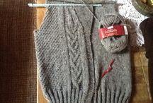 Meus trabalhos em trico e croche... / Meus diversos trabalhos, tricoto desde meus 10anos de idade......