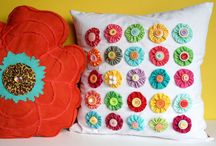 Pillows / by Pam Dudley