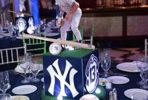 Sports Themed Centerpieces / A collection of our favorite Sports Themed Centerpieces - Mostly for bar mitzvahs