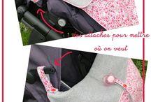 accessoires poussettes et portage en écharpe